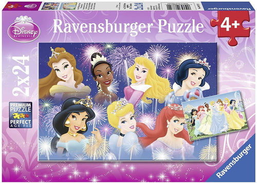 Disney Princesses Gathering Puzzle 2x24pc
