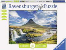 River Waterfall Nature Puzzle 1000pc