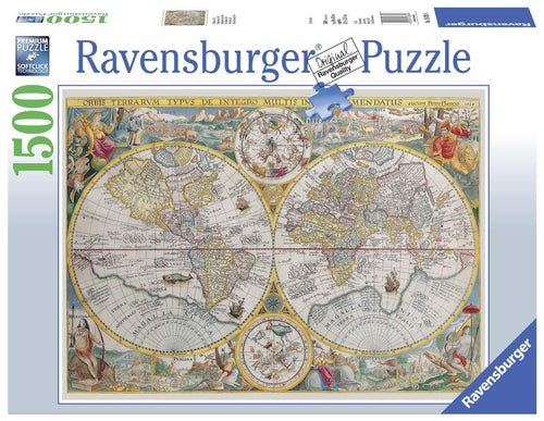 Historical Map Puzzle 1500pc