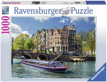 Canal Tour in Amsterdam Puzzle 1000pc