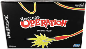 Hasbro Gaming Parody Game Operation Botched