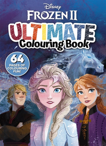Frozen 2: Ultimate Colouring