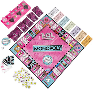 Hasbro Gaming LOL Surprise Monopoly Board Game