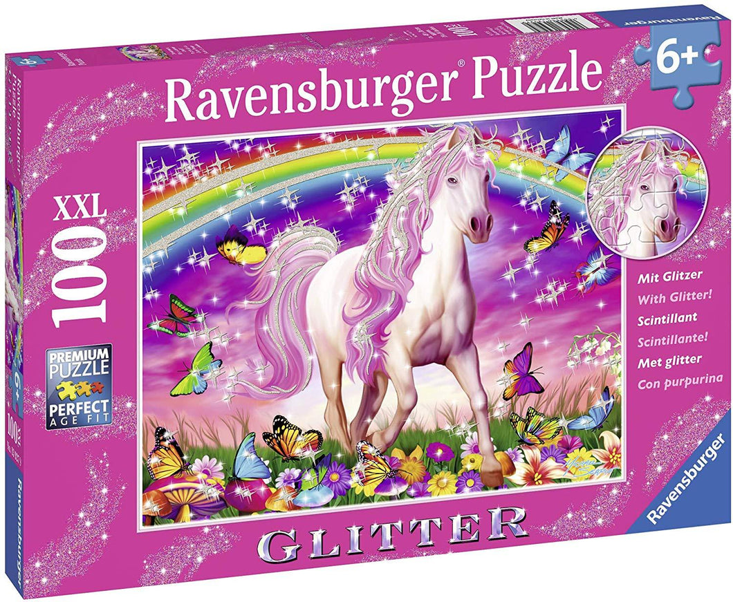 Horse Dream Puzzle GLITTER 100pc