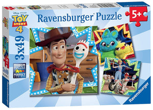 Disney Toy Story 4 Puzzle 3x49pc
