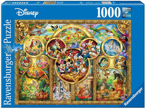 Disney Best Themes Puzzle 1000pc