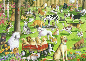 At the Dog Park Puzzle 500pcLF