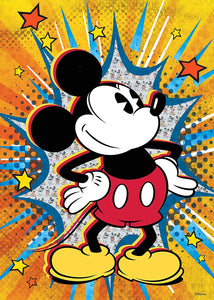 Disney Retro Mickey Puzzle 1000pc
