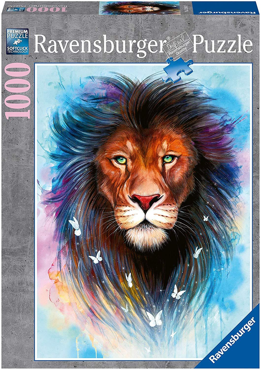 Majestic Lion Puzzle 1000pc