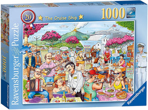 Best British No20 Cruise Ship Puzzle 1000pc