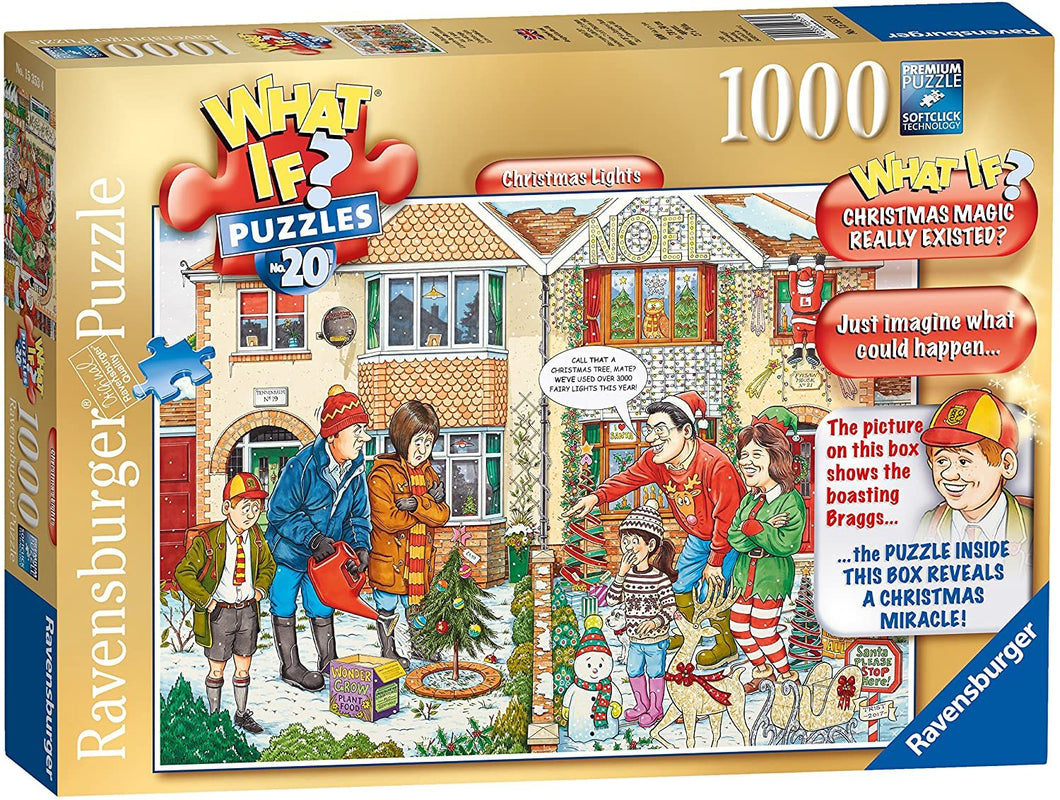 What If No 20 Christmas Lights 1000pc