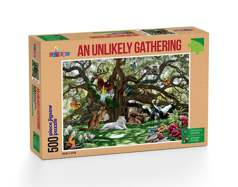 An Unlikely Gathering - 500 Pieces