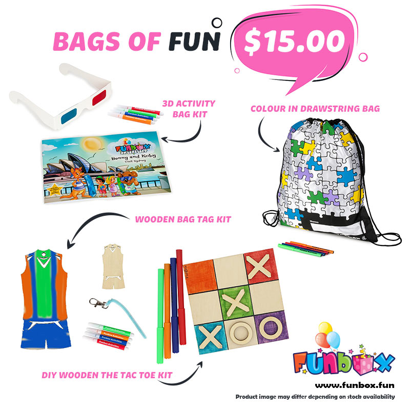 Boredom Buster - Bags of Fun Kit