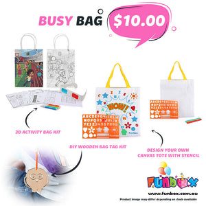 Boredom Buster - Busy Bag Kit