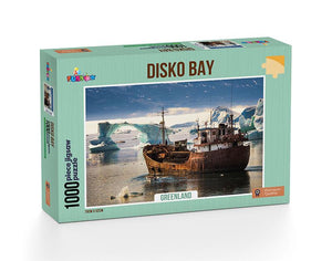 Disko Bay - Greenland 1000pc