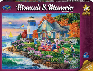 Moments Memories Lighthouse 1000pc