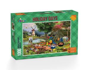 Holiday Days: Camping - 1000 Piece