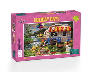 Holiday Days: Caravanning - 1000 Piece