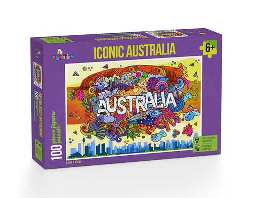 Iconic Australia - 100 Pieces