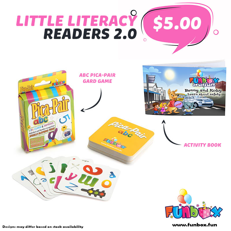 Boredom Buster - Little Literacy Readers 2.0 Kit