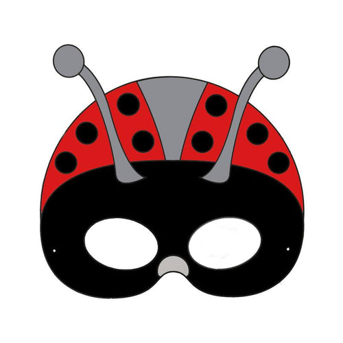 Ladybug Colour-In Mask