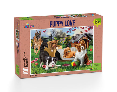 Puppy Love - 100 Pieces