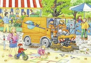Street Cleaning Underway Puzzle 2x12pc
