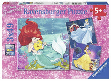 Disney Princesses Adventure 3x49pc