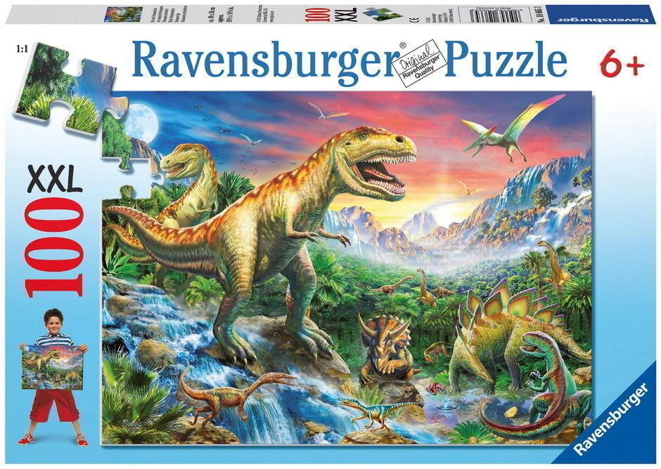 Time of the Dinosaurs Puzzle 100pc