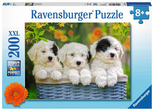 Cuddly Puppies Puzzle 200pc