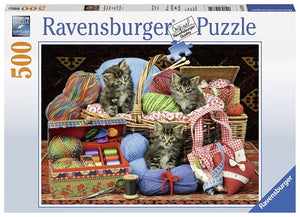 Fluffy Pleasure Puzzle 500pc