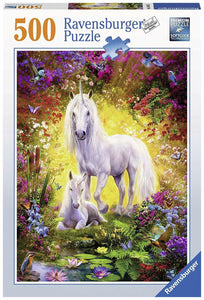 Unicorn and Foal Puzzle 500pc