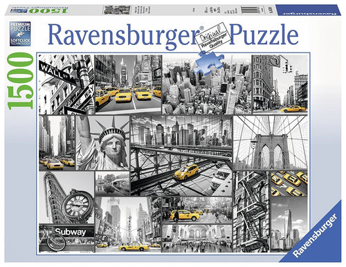 New York Cabs Puzzle 1500pc