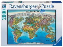 World Map Puzzle 2000pc