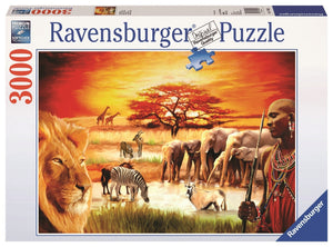 Proud Maasai Puzzle 3000pc