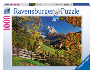 Mountainous Italy Puzzle 1000pc