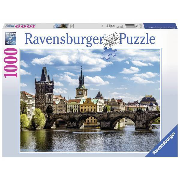 Prague The Charles Bridge Puzzle 1000pc