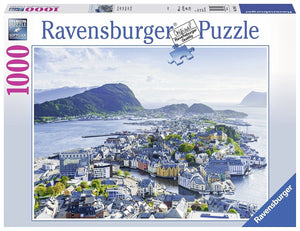 Above Alesund Puzzle 1000pc