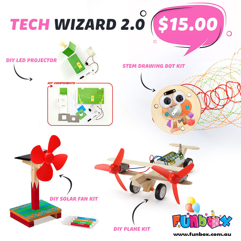 Boredom Buster - Tech Wizard 2.0 Kit