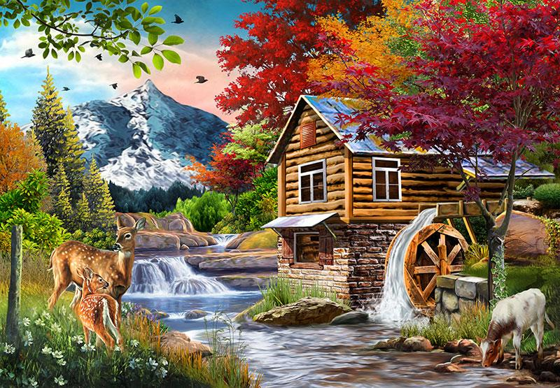 Perfect Places: The Cabin 1000pc