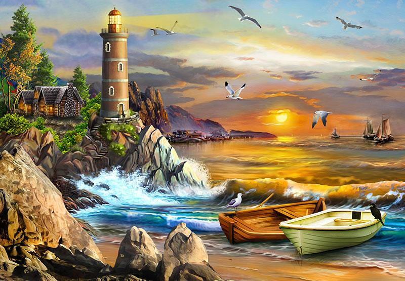 Perfect Places: The Lighthouse 1000pc