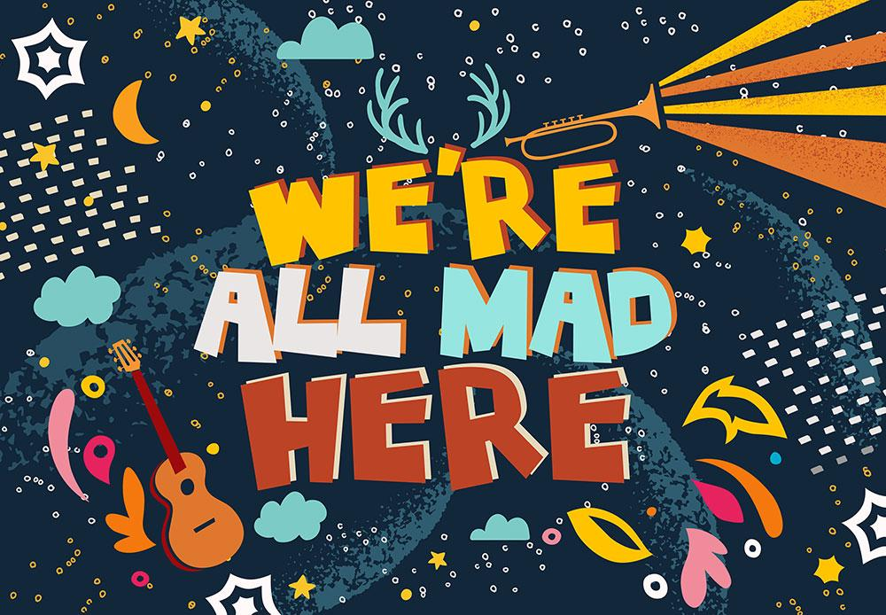 We're All Mad Here 1000pc