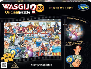 Holdson - Wasgij? Original 28 Dropping the Weight 1000pc