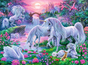 Unicorns at Sunset Puzzle 150pc