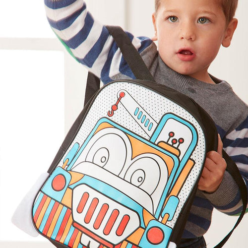 Colour Me In Truck Backpack