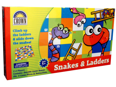 Crown Snakes and Ladders