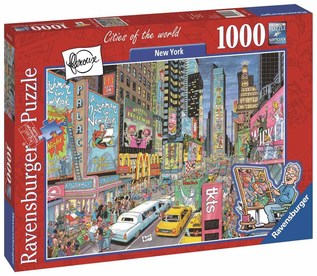 New York Puzzle 1000pc