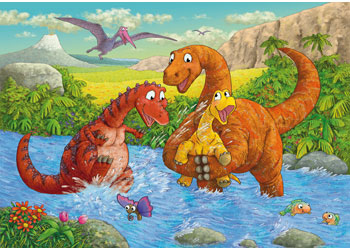 Dinosaurs at Play 2x24