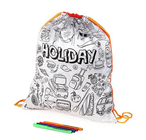 Holiday Multi-Purpose Drawstring Bag