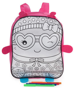 Colour Me In Sweetie Backpack